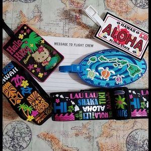 HAWAI'I Travel Pack,luggage 🧳 id & straps↙️READ